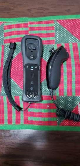 Wii remote con funda + nunchuk