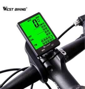 Promoción! Odómetro Velocímetro Bicicleta Inalámbrico Agua