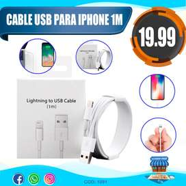 CABLE USB PARA IPHONE 1 M