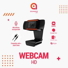 Webcam HD con Micrófono incorporado