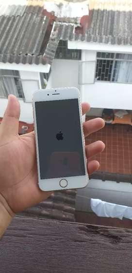 Vendo iphone 6s de 16 GB son huella