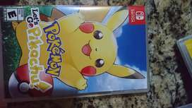 Let's go Pikachu video juego
