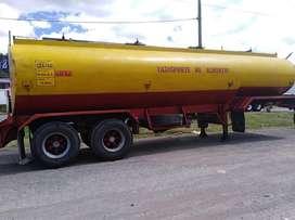 Auto tanque remolques pozo 2008