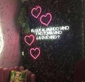 Letreros en Neon