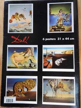 se vende litografías posters de Salvador Dalí