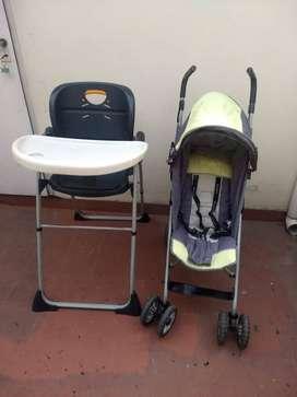 silla para bebe chicco y cochecito priori.excelente oportunidad..liquidación.