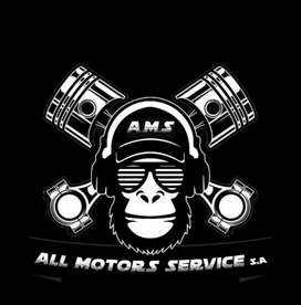 All motor service .mecanica general .diagnostico computarizado