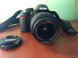 Camara reflex nikon D3100