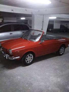 Fiat 800 Coupe Spider