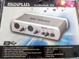 Interfaz de Audio AudioLink III