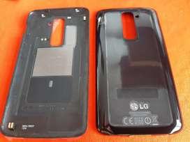 Tapa LG G2 negra original trasera D800