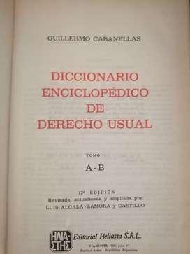 Colección enciclopedia jurídica Cabanelas