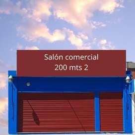 Vendo Salón comercial en la ciudad de Oncativo,  a 3 cuadras del centro, 200mts2