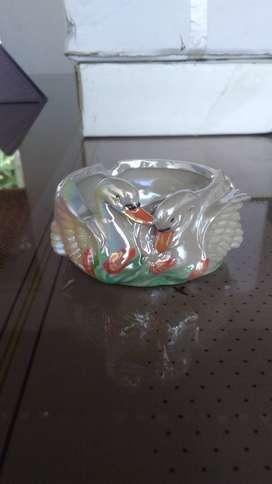Cenicero en vidrio de lujo