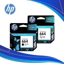 Cartuchos de Tinta HP 664 Ink Advantage Negro + Tricolor