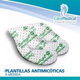 Plantillas Ortopédicas Antimicoticas a Medida Ortopedia Care Medical