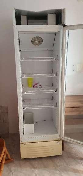 Nevera vertical refrigeración