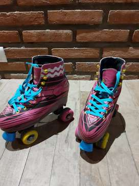 Patines soy luna talle 38