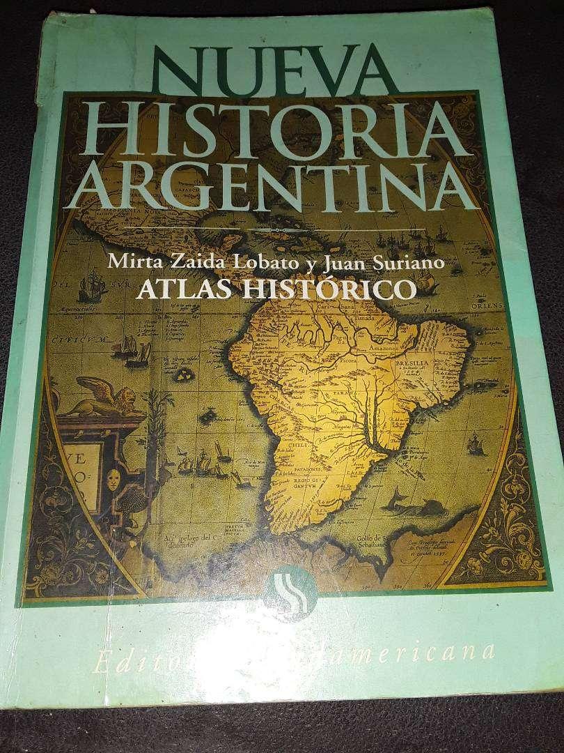 Nueva historia Argentina 585 páginas en buen estado