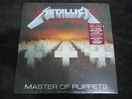 Metallica master of puppets LP 2017 envío gratis!