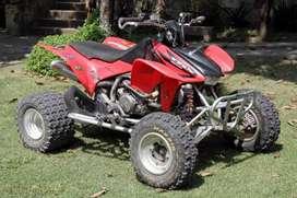 Honda Trx 450 Er +chapones +escape Sparks +anti Shimmy Y Mas