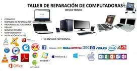 SERVICIO DE MANTENIMIENTO Y REPARACION DE COMPUTADORES