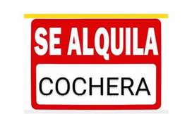 ALQUILO COCHERA O DEPÓSITO P/4 AUTOS