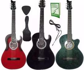 fabrica Guitarra Electroacustica aire artesanal Cable Forro Pua Metodo