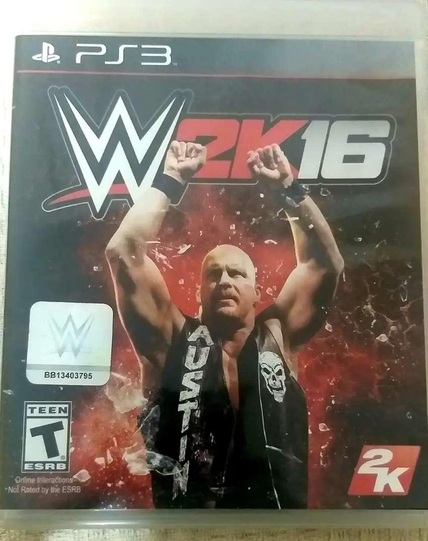WWE 2K16 (JUEGO FÍSICO), PS3 0