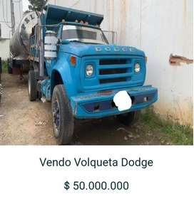 Vendo volqueta Dodge