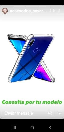 Funda trasparente bordes reforzados para iPhone 12 Pro Max