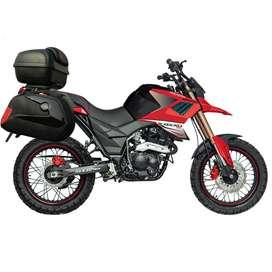 MOTO AXXO TRACKER 250cc + MATRICULA + PLACAS + 2 CASCOS + MALETERAS