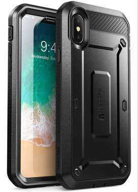Case iPhone X / Xs / Xs Max / XR (2018) Funda Protector 360° Con Apoyo Supcase