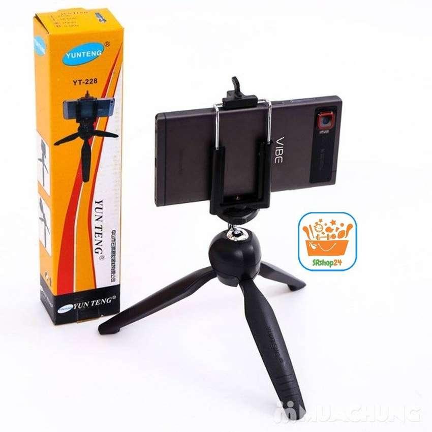 Mini Tripode Firme Selfie Adaptador Celular Camara ideal Tik Tok 0