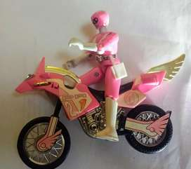 Power Rangers Thunder Bike Pink Kimberly