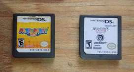 Ds Assassins Cred ll  y Mario party