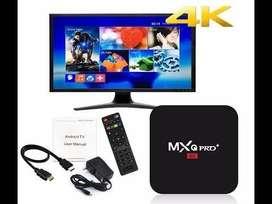 SMART TV BOX MXQ PRO 10.1 4K 4GB/32GB RAM WIFI /LAN CONVIERTE TU TV EN UN SMAR TV