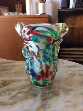 Florero de Cristal de Murano