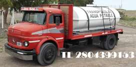 AGUA POTABLE EN CAMION EN MADRYN