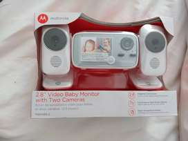 Cámara- monitor para bebé (Motorola)
