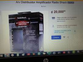 Av Distribuidor Amplificador Radio Shack