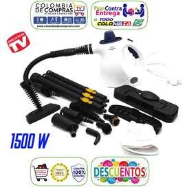 H2O MOP X 15 en 1 TV 1.500 W Maquina Limpieza Multiusos Vapor, Alemana, Originales, Nuevos, Garantizados.
