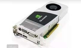 Vendo o cambio Nvidia Quadro fx 4800 edición para trabajos pesados