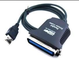 Cable Adaptador Impresora Paralelo A Usb