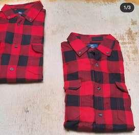 Camisas leñadoras