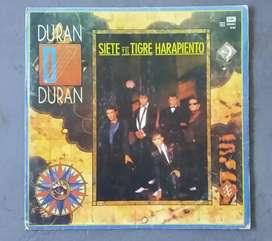 Disco Vinilo Duran Duran Siete y el Tigre Harapiento