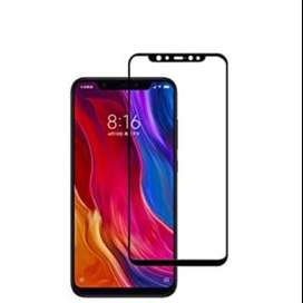 Templado Full Cover para celular Xiaomi MI 8 curvo