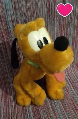 Peluche perro Pluto ORIGINAL!!!