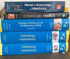 Libros de medicina como nuevos