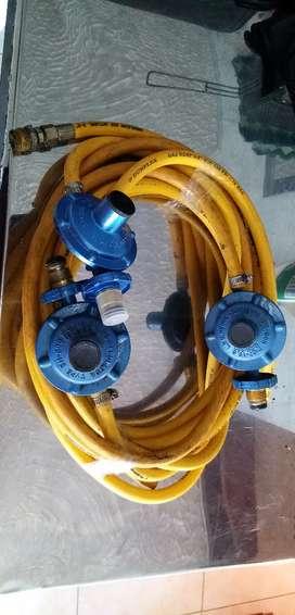 Vendo 3 reguladores de gas